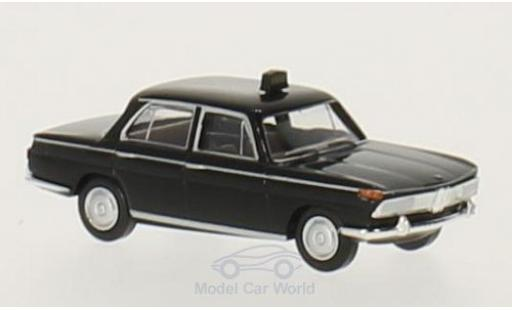 Bmw 2000 1/87 Brekina black Taxi diecast model cars