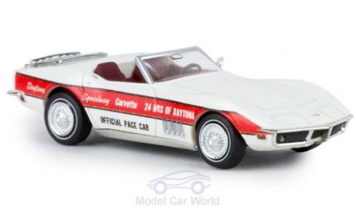 Chevrolet Corvette 1/87 Brekina C3 Cabrio Pace Car 1967 diecast model cars