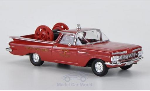 Chevrolet El Camino 1/87 Brekina Fire Rescue - Vista New York Feuerwehr (US diecast model cars