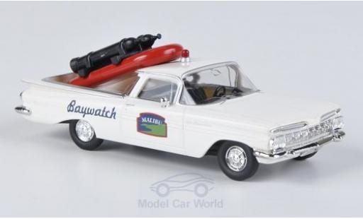 Chevrolet El Camino 1/87 Brekina Malibu Baywatch mit Ladegut miniature