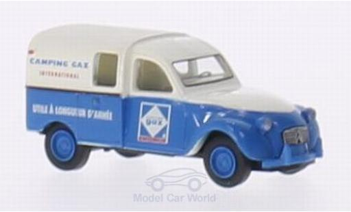 Citroen 2CV 1/87 Brekina 2 CV AZU Camping Gaz International (F) miniature