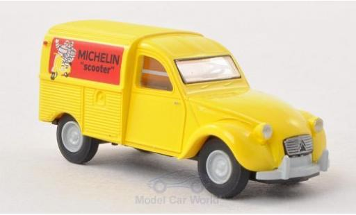 Citroen 2CV 1/87 Brekina 2 CV Kastenente Michelin Scooter (F) diecast model cars