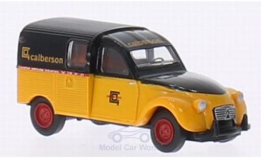 Citroen 2CV 1/87 Brekina AZU Calberson miniature