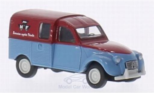 Citroen 2CV 1/87 Brekina AZU Massey Ferguson miniature