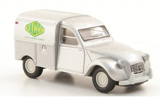 Citroen 2CV 1/87 Brekina Fourgonette Yacco miniature