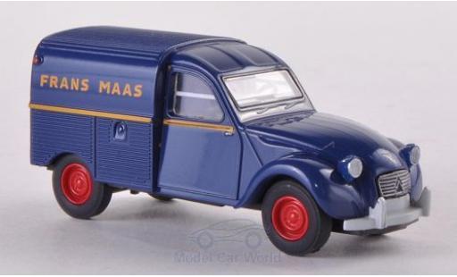 Citroen 2CV 1/87 Brekina Kasten Frans Maas (NL) miniature