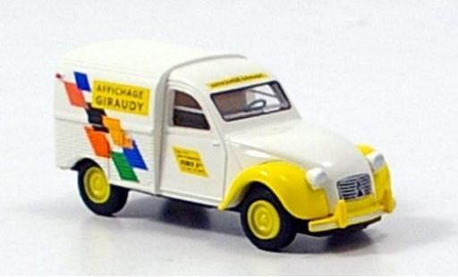 Citroen 2CV 1/87 Brekina Kasten Giraudy miniature