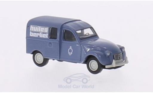 Citroen 2CV 1/87 Brekina Kastenente Huiles Berliet miniature