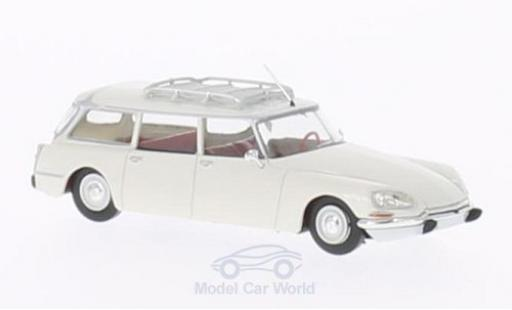 Citroen DS 1/87 Brekina Break blanche miniature