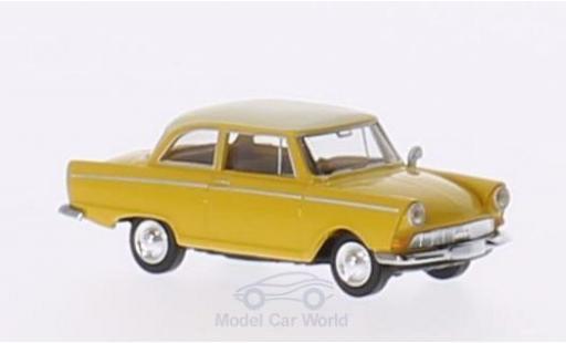 DKW Junior 1/87 Brekina jaune/beige miniature