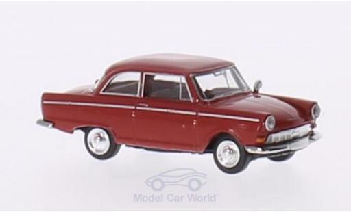 DKW Junior 1/87 Brekina rouge miniature