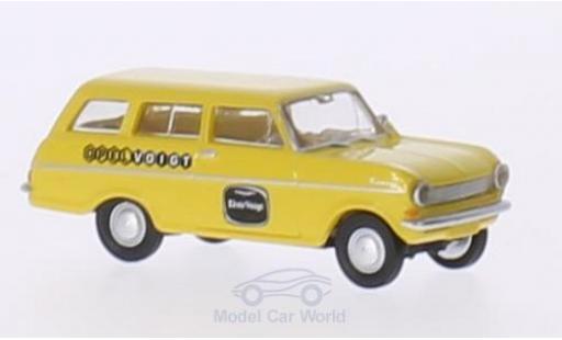 Opel Kadett 1/87 Brekina Drummer A CarAVan Voigt miniature