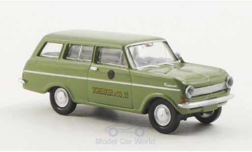 Opel Kadett 1/87 Brekina Drummer A Caravan Schenker miniature