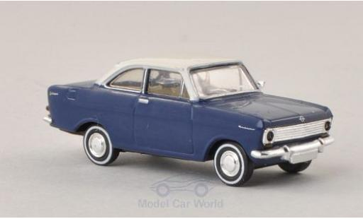 Opel Kadett 1/87 Brekina Drummer A Coupe bleue/blanche miniature