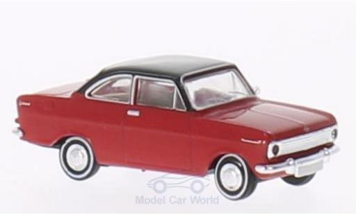 Opel Kadett E 1/87 Brekina A Coupe rouge/noire miniature