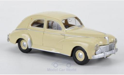 Peugeot 203 1/87 Brekina Drummer Berline beige miniature