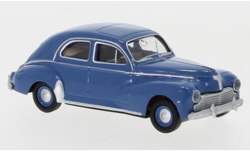 Peugeot 203 1/87 Brekina Drummer blue 1948 diecast model cars