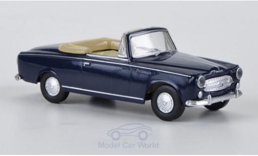 Peugeot 403 1/87 Brekina Drummer bleue miniature