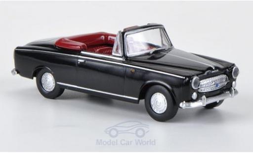 Peugeot 403 1/87 Brekina noire miniature