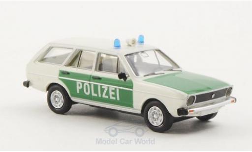 Volkswagen Passat 1/87 Brekina Drummer Variant Polizei (D) miniature