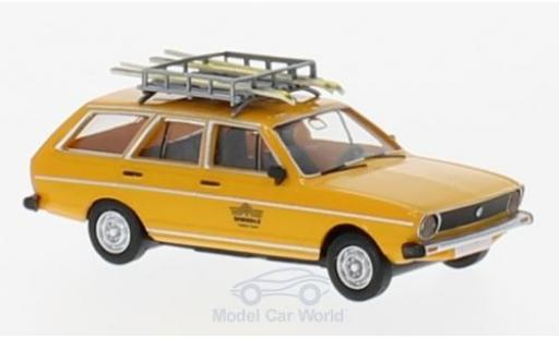Volkswagen Passat 1/87 Brekina Drummer Variant Völkl Testski-Team miniature