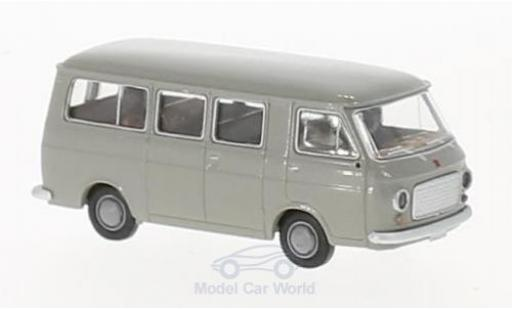 Fiat 238 1/87 Brekina Bus grise miniature