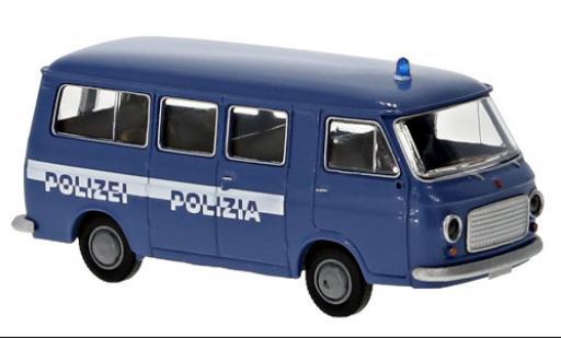 Fiat 238 1/87 Brekina Bus Polizia - Polizei 1966 miniature