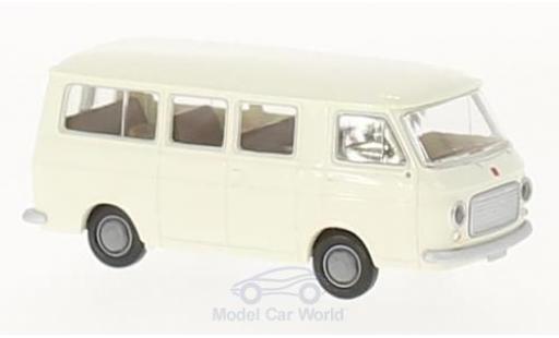 Fiat 238 1/87 Brekina Bus blanche miniature