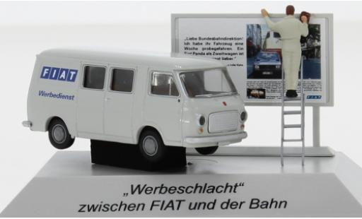 Fiat 238 1/87 Brekina Halbbus 1966 avec figurine miniature