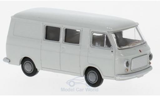 Fiat 238 1/87 Brekina Halbbus grise miniature