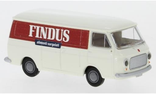 Fiat 238 1/87 Brekina Kasten Findus 1966 coche miniatura
