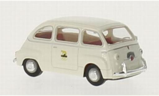 Fiat Multipla 1/87 Brekina Olympiade Rom 1960 coche miniatura