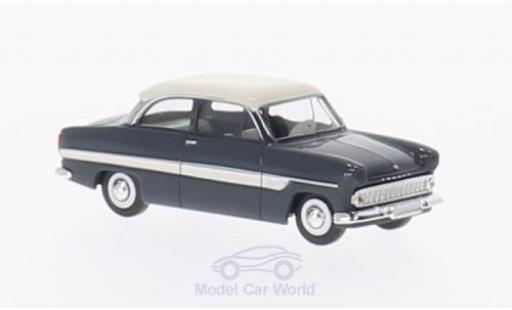 Ford 12M 1/87 Brekina 12m grise/blanche miniature