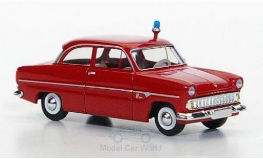 Ford 12M 1/87 Brekina Feuerwehr miniature