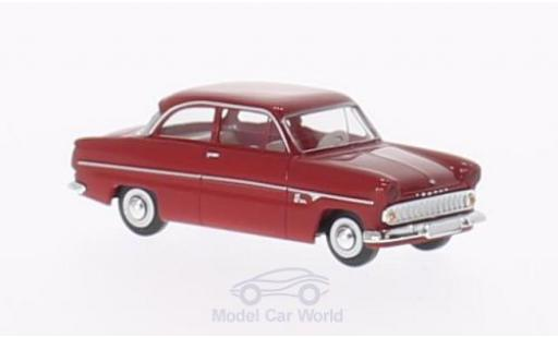 Ford 12M 1/87 Brekina 12m rouge miniature