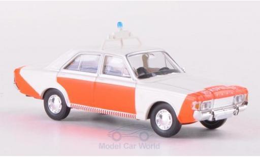 Ford 17M 1/87 Brekina 17m (P7b) Rijkspolitie Polizei (NL) miniature