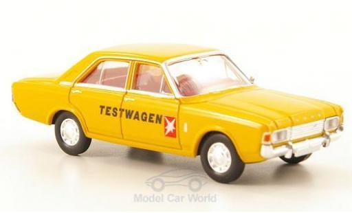 Ford 17M 1/87 Brekina 17m (P7b) Stern Testwagen ohne Vitrine miniature