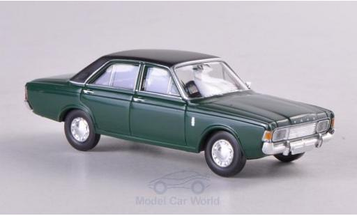 Ford 20M 1/87 Brekina 20m (P7b) green/matt-black diecast model cars