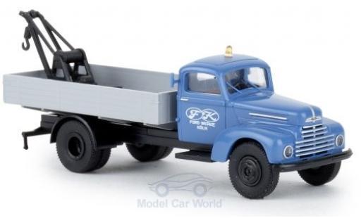 Ford FK 1/87 Brekina 3500 Abschleppwagen Werke 1951 miniature