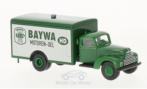 Ford FK 1/87 Brekina 3500 Koffer BayWa Motoren Oel miniature