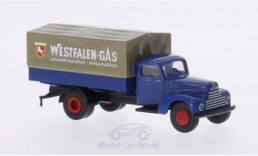 Ford FK 1/87 Brekina 3500 Westfalen Gas P/P-LKW diecast model cars
