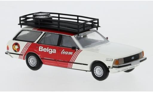 Ford Granada 1/87 Brekina II Turnier Belga Team 1977 diecast model cars