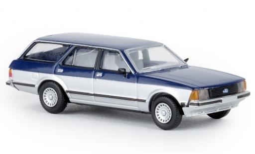 Ford Granada 1/87 Brekina II Turnier blue/grey Sapphire 1977 diecast model cars