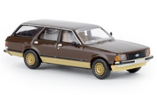 Ford Granada 1/87 Brekina II Turnier brown 1977 modéle spécial diecast model cars