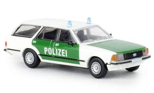 Ford Granada 1/87 Brekina II Turnier Polizei 1977 diecast model cars