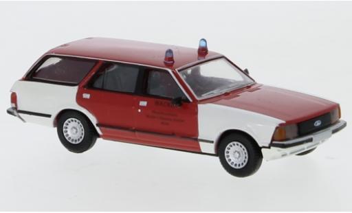 Ford Granada 1/87 Brekina II Turnier Werkfeuerwehr Wacker Chemie 1977 miniature