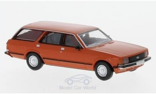 Ford Granada 1/87 Brekina MKII Turnier orange 1978 miniature
