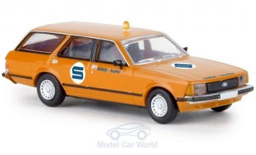 Ford Granada 1/87 Brekina MKII Turnier Streckensicherung 1977 diecast