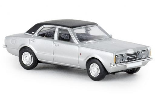 Ford Taunus 1/87 Brekina GXL grey/black 1972 diecast model cars