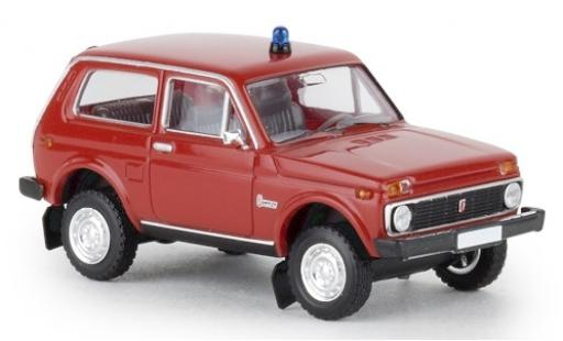 Lada Niva 1/87 Brekina Feuerwehr 1970 miniatura